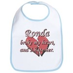 Ronda broke my heart and I hate her Bib