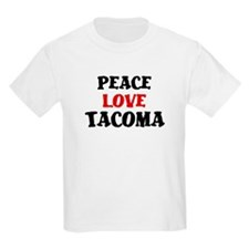 Peace Love Tacoma T-Shirt