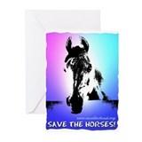 Greeting Cards -Save the Horses (Pk of 10)