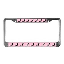 High Heel Shoe License Plate Frame