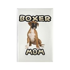 Boxer Mom Rectangle Magnet