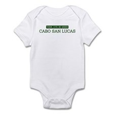 Green CABO SAN LUCAS Infant Bodysuit