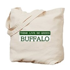 Green BUFFALO Tote Bag