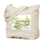 SAVE THE FROGS! Tote Bag