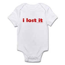 i lost it Infant Bodysuit