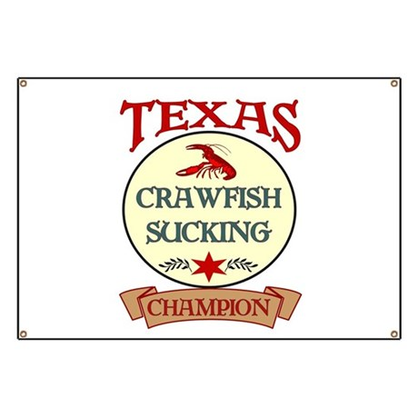 Crawfish Eating Champ Banner