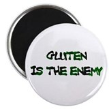 GLUTEN IS THE ENEMY Magnet