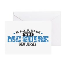 McGuire Air Force Base Greeting Card