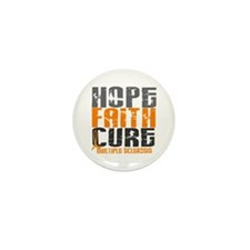 HOPE FAITH CURE MS Mini Button (100 pack)
