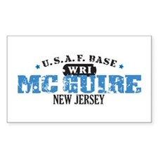 McGuire Air Force Base Rectangle Decal