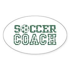 Soccer Coach Oval Decal
