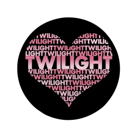 Twilight Heart 3.5&quot; Button