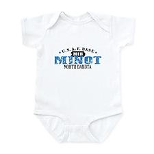 Minot Air Force Base Infant Bodysuit