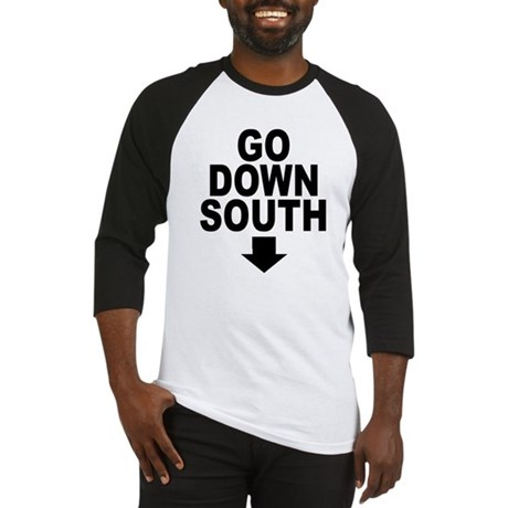 Go Down South ↓ Baseball Jersey