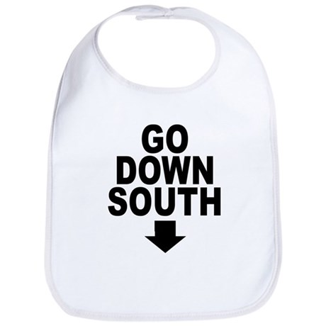 Go Down South ↓ Bib