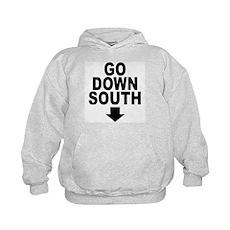 Go Down South ↓ Kids Hoodie