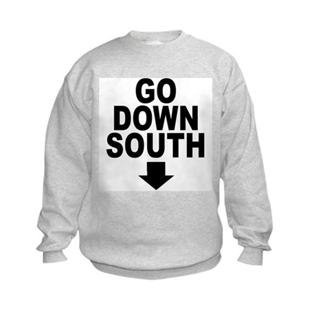 Go Down South ↓ Kids Sweatshirt