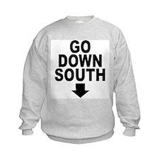 Go Down South ↓ Kids Sweatshirt