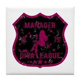 Manager Diva League Tile Coaster