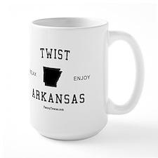 Twist (AR) Arkansas Tees Mug