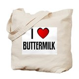 I LOVE BUTTERMILK Tote Bag