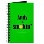 Andy is smokin' Journal