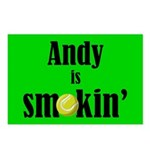 Andy is smokin' Postcards (Package of 8)