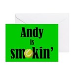 Andy is smokin' Greeting Cards (Pk of 10)