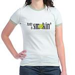 Andy is smokin' Jr. Ringer T-Shirt
