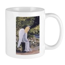 Angel in Garden Mug