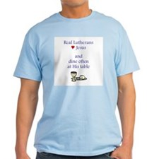 Jesus and the Lord's Table T-Shirt