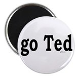 "go Ted 2.25"" Magnet (10 pack)"