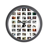 Splashy Wall Clock