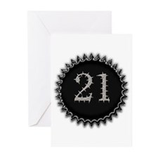 Cool 21 Greeting Cards (Pk of 20)