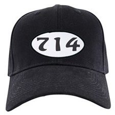714 Area Code Baseball Hat