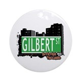 GILBERT STREET, STATEN ISLAND, NYC Ornament (Round