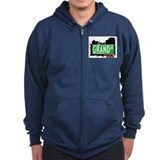 GRAND AVENUE, STATEN ISLAND, NYC Zip Hoodie