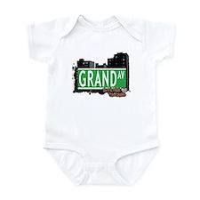 GRAND AVENUE, STATEN ISLAND, NYC Infant Bodysuit