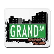 GRAND AVENUE, STATEN ISLAND, NYC Mousepad