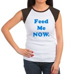 Feed Me Now Women's Cap Sleeve T-Shirt