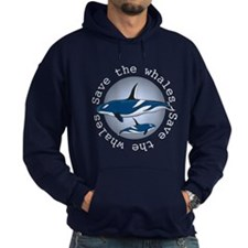 Save the whales v2 Hoodie