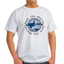 Save the whales v2 T-Shirt