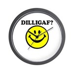 DILLIGAF? Wall Clock