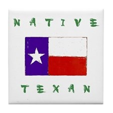 Native Texan Tile Coaster
