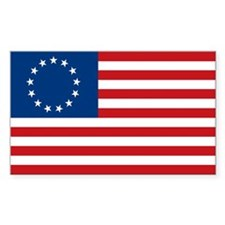 Stars & Stripes Flag (1834) Rectangle Decal