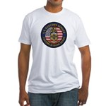 U S Customs Berlin Fitted T-Shirt