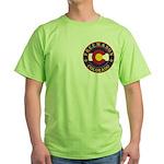 Colorado Masons Green T-Shirt