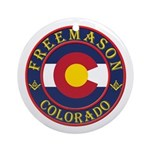 Colorado Masons Ornament (Round)