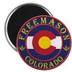 Colorado Masons Magnet