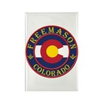 Colorado Masons Rectangle Magnet